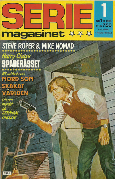 Cover for Seriemagasinet (Semic, 1970 series) #1/1985