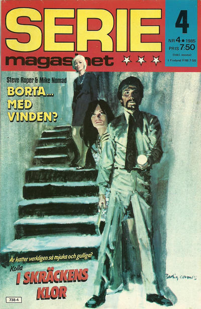 Cover for Seriemagasinet (Semic, 1970 series) #4/1985