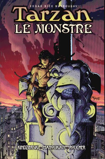 Cover for Edgar Rice Burroughs' Tarzan Le Monstre (Dark Horse, 1998 series) #[nn]