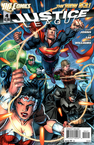 Cover for Justice League (DC, 2011 series) #4 [Andy Kubert Variant]