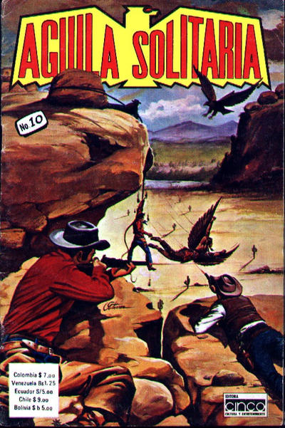 Cover for Aguila Solitaria (Editora Cinco, 1976 ? series) #10