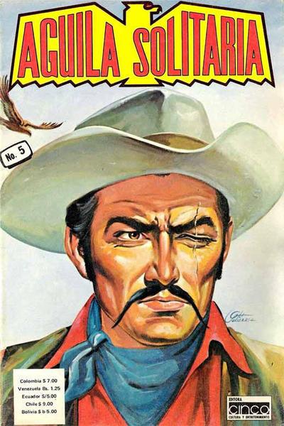 Cover for Aguila Solitaria (Editora Cinco, 1976 ? series) #5