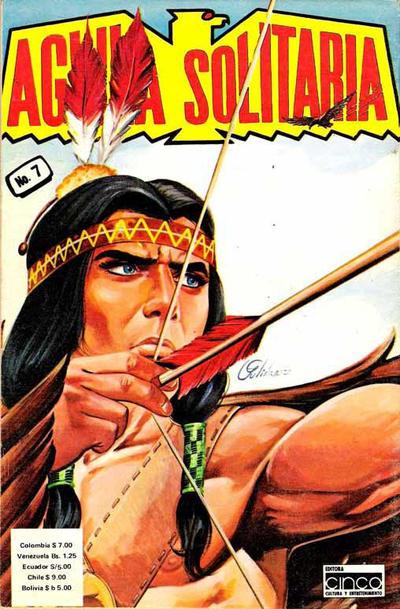 Cover for Aguila Solitaria (Editora Cinco, 1976 ? series) #7