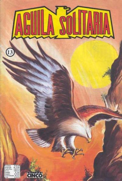 Cover for Aguila Solitaria (Editora Cinco, 1976 ? series) #13