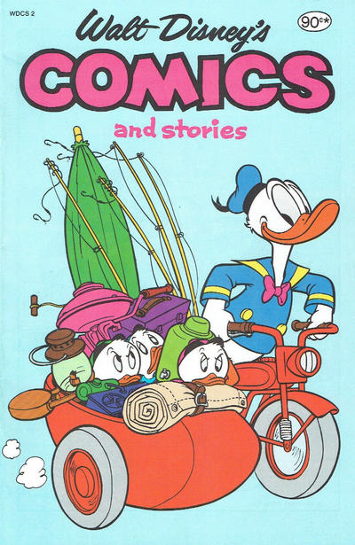 Cover for Walt Disney's Comics and Stories (Magazine Management, 1984 series) #2