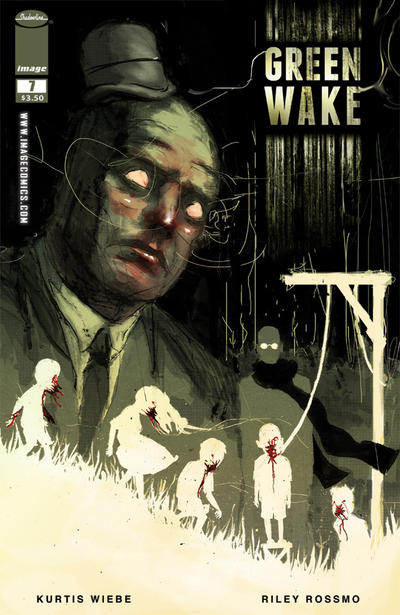 Cover for Green Wake (Image, 2011 series) #7