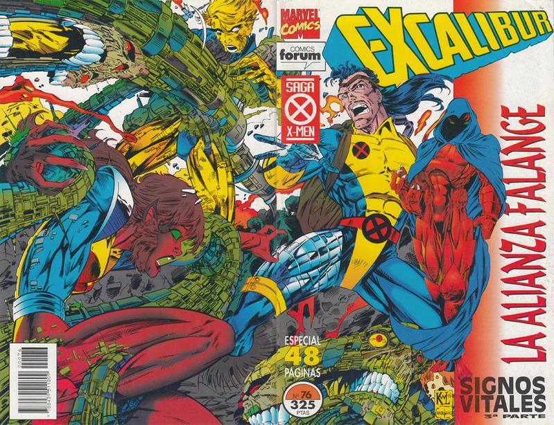 Cover for Excalibur (Planeta DeAgostini, 1989 series) #76