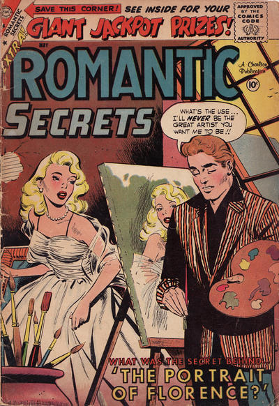 Cover for Romantic Secrets (Charlton, 1955 series) #21