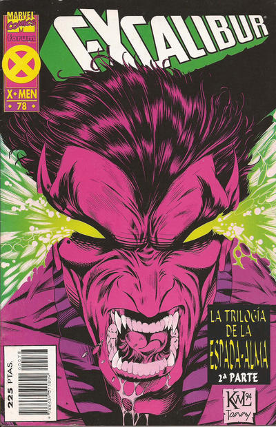 Cover for Excalibur (Planeta DeAgostini, 1989 series) #78