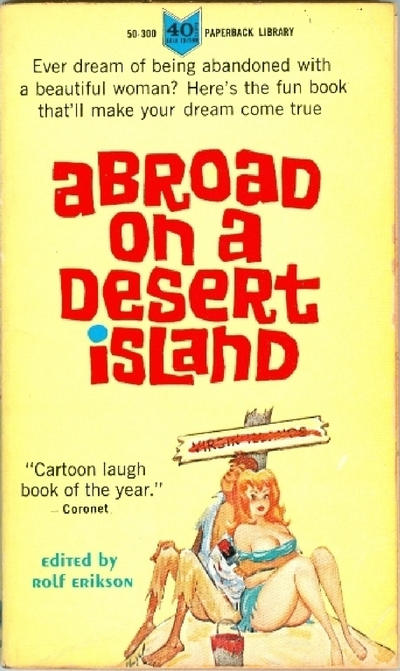 Cover for Abroad on a Desert Island (Paperback Library, 1964 series) #50-300