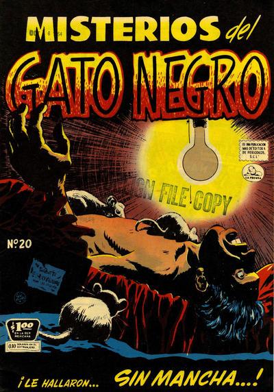 Cover for Misterios del Gato Negro (Editora de Periódicos La Prensa S.C.L., 1953 series) #20