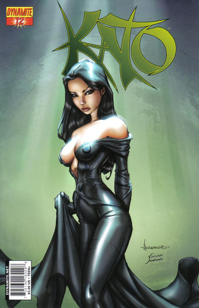 Cover for Kato (Dynamite Entertainment, 2010 series) #12