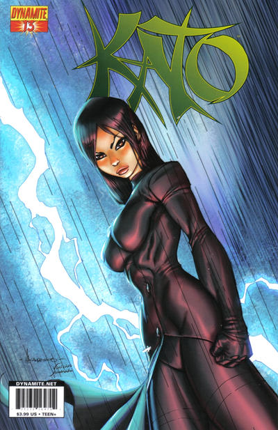 Cover for Kato (Dynamite Entertainment, 2010 series) #13