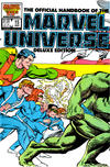 Cover for The Official Handbook of the Marvel Universe (Marvel, 1985 series) #15 [Direct]