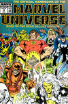 Cover for The Official Handbook of the Marvel Universe (Marvel, 1985 series) #18