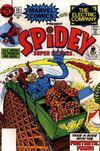 Cover for Spidey Super Stories (Marvel, 1974 series) #38 [Non-Newsstand Bagged]