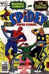 Cover for Spidey Super Stories (Marvel, 1974 series) #41 [Newsstand]