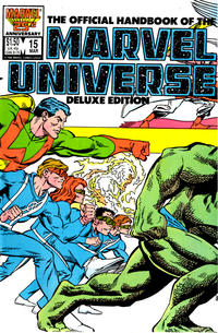 Cover Thumbnail for The Official Handbook of the Marvel Universe (Marvel, 1985 series) #15 [Direct]