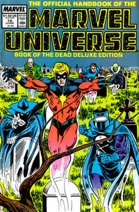 Cover Thumbnail for The Official Handbook of the Marvel Universe (Marvel, 1985 series) #16 [Direct]