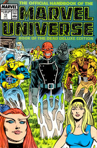 Cover Thumbnail for The Official Handbook of the Marvel Universe (Marvel, 1985 series) #19