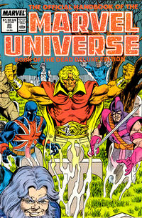 Cover Thumbnail for The Official Handbook of the Marvel Universe (Marvel, 1985 series) #20