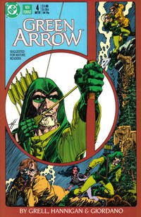 Cover Thumbnail for Green Arrow (DC, 1988 series) #4