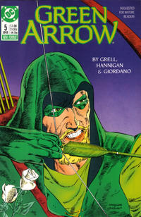 Cover Thumbnail for Green Arrow (DC, 1988 series) #5