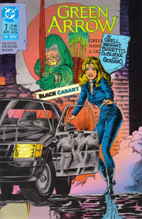 Cover Thumbnail for Green Arrow (DC, 1988 series) #7