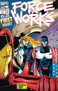 Cover Thumbnail for Force Works (Marvel, 1994 series) #1 [Direct Edition]
