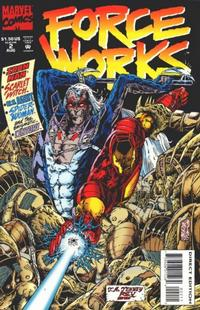 Cover Thumbnail for Force Works (Marvel, 1994 series) #2 [Direct Edition]