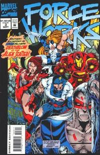Cover Thumbnail for Force Works (Marvel, 1994 series) #3 [Direct Edition]