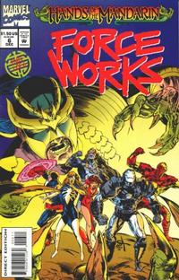 Cover Thumbnail for Force Works (Marvel, 1994 series) #6 [Direct Edition]