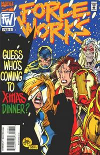 Cover Thumbnail for Force Works (Marvel, 1994 series) #8 [Direct Edition]