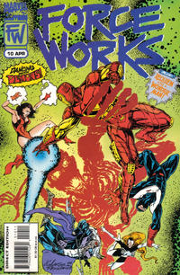 Cover Thumbnail for Force Works (Marvel, 1994 series) #10 [Direct Edition]