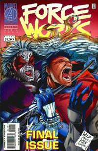 Cover Thumbnail for Force Works (Marvel, 1994 series) #22