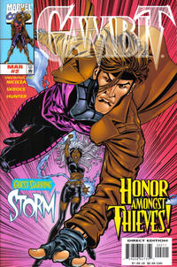 Cover Thumbnail for Gambit (Marvel, 1999 series) #2 [Direct Edition]