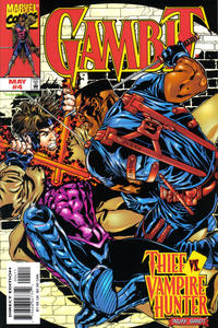 Cover for Gambit (Marvel, 1999 series) #4 [Direct Edition]