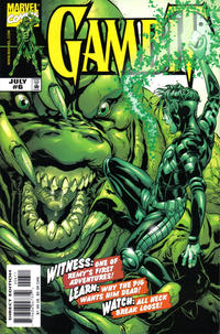 Cover Thumbnail for Gambit (Marvel, 1999 series) #6 [Direct Edition]