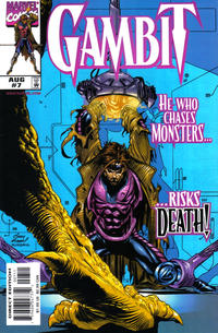 Cover Thumbnail for Gambit (Marvel, 1999 series) #7 [Direct Edition]