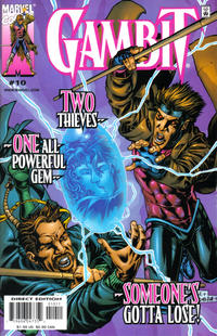 Cover Thumbnail for Gambit (Marvel, 1999 series) #10