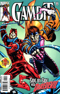 Cover for Gambit (Marvel, 1999 series) #11 [Direct Edition]