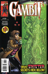 Cover Thumbnail for Gambit (Marvel, 1999 series) #13 [Direct Edition]