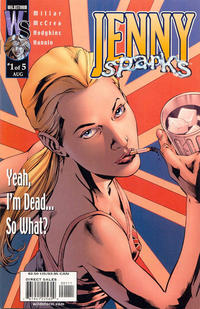 Cover Thumbnail for Jenny Sparks: The Secret History of the Authority (DC, 2000 series) #1 [Bryan Hitch Cover]