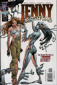 Cover Thumbnail for Jenny Sparks: The Secret History of the Authority (DC, 2000 series) #5
