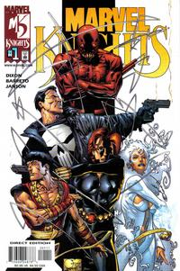 Cover Thumbnail for Marvel Knights (Marvel, 2000 series) #1 [Direct Edition]