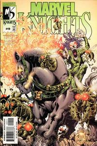 Cover Thumbnail for Marvel Knights (Marvel, 2000 series) #9 [Direct Edition]