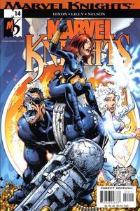 Cover Thumbnail for Marvel Knights (Marvel, 2000 series) #14 [Direct Edition]