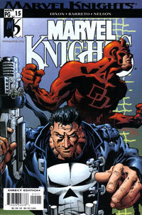 Cover Thumbnail for Marvel Knights (Marvel, 2000 series) #15