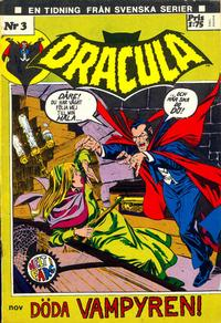 Cover Thumbnail for Dracula (Svenska serier, 1972 series) #3/[1972]