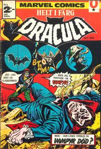 Cover Thumbnail for Dracula (Red Clown, 1974 series) #2/1974